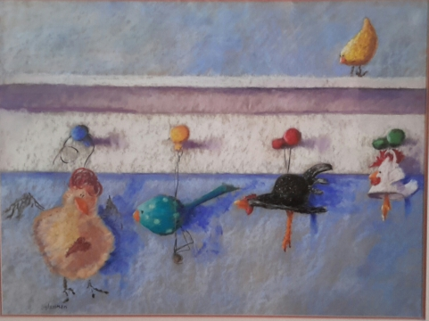 Abstract Mixed Media and Collage - A Creative Process with Laurie Daddona